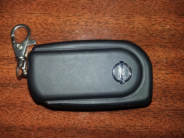 Два в одном, выкидной ключ и сигнализация. Вид с сади.